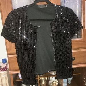 the limited size medium black sequence cardigan